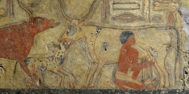 France, Paris, Musee du Louvre, Old Kingdom, Dynasty V