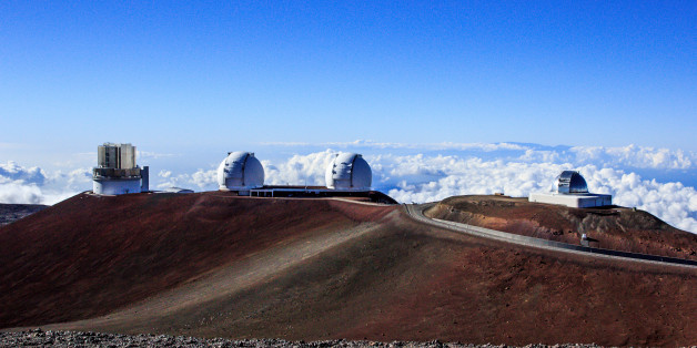 The NASA Infrared Telescope Facility, Keck I, Keck II, and Subaru Telescopes at the Mauna Kea Observatories On the Big Island of Hawaii