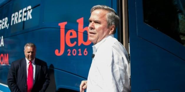Jeb Bush à Summerville, en Caroline du Sud, le 17 février 2016