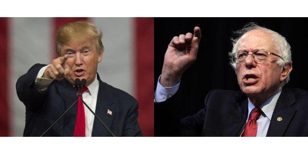 Donald Trump face à Bernie Sanders: le Joker contre Robin des Bois