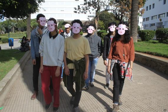 troupe élèves