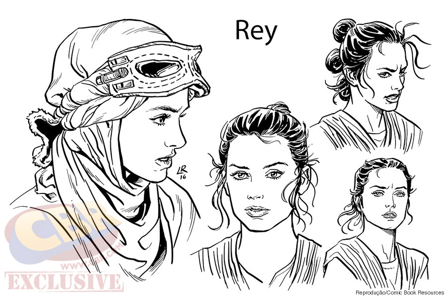 rey comic book