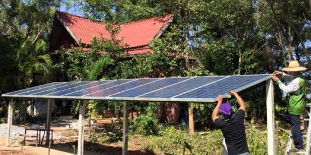 "An der Schule des ""Solar-Mönch"" lernen Kinder autarkes Leben"
