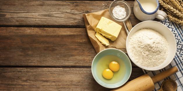 Eier sind typischer Bestandteil eines Biscuit-Kuchens