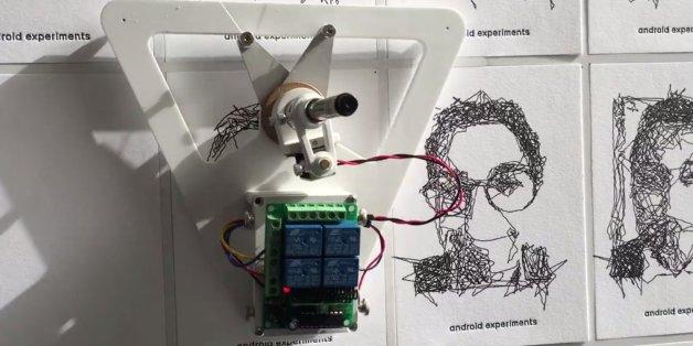 Prenez-vous en photo, ce robot de Google dessine votre portrait