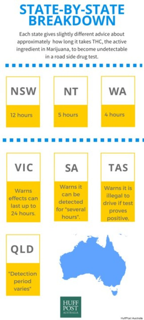 Hazy Drug Driving Advice On Australian Roads | HuffPost Australia