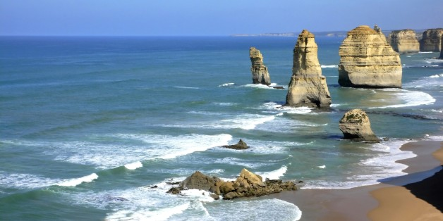 (GERMANY OUT) Victoria - rock formation 12 Apostles (Photo by Mayall/ullstein bild via Getty Images)