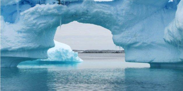 Un iceberg en Antartic, le 2 janvier 2010