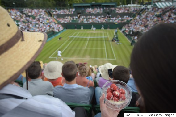 wimbledon strawberries