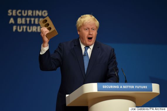 boris johnson brick