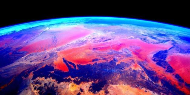 So bunt habt ihr die Erde noch nicht gesehen
