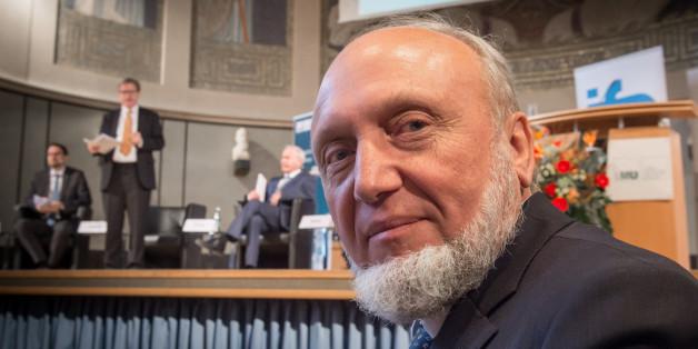 Hans-Werner Sinn bei seiner Verabschiedung als Ifo-Chef