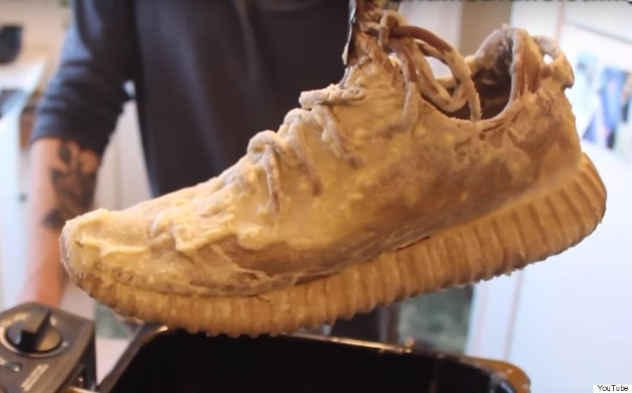 deep fried yeezys
