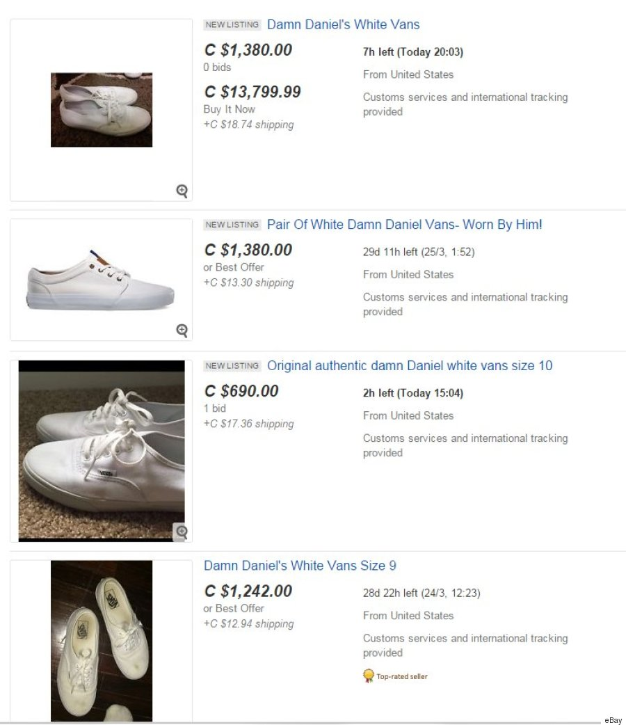 8eede4932454 how much are white vans