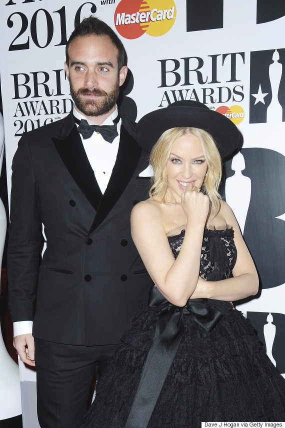 brit awards kylie