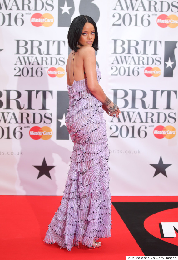 rihanna 2016 brit awards