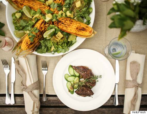 A round up of six popular meal delivery services hellofresh is a cook from scratch service that delivers a box of fresh high quality ingredients and meal plans to your door the service helps customers forumfinder Images