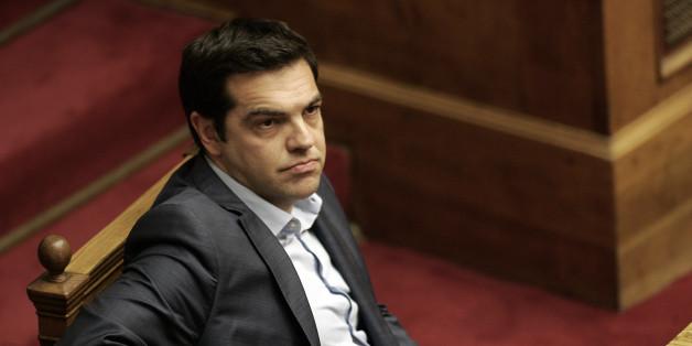 Der griechische Ministerpräsident Alexis Tsipras droht mit einer Blockade der EU