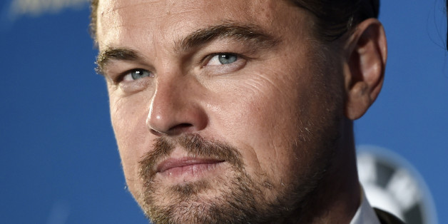 """Leonardo DiCaprio, star of """"The Revenant,"""" poses backstage at the 68th Directors Guild of America Awards at the Hyatt Regency Century Plaza on Saturday, Feb. 6, 2016 in Los Angeles. (Photo by Chris Pizzello/Invision/AP)"""