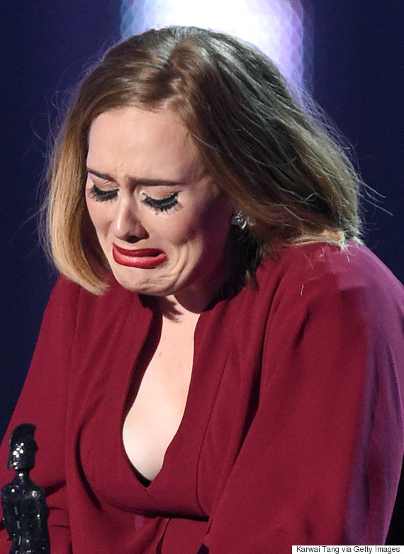 Brits Awards 2016: Adele Censored During Acceptance Speech, But ITV Forget To Bleep Her Actually Swearing