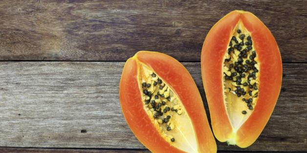 Papaya ist eine exotische Frucht voller Gesundheit