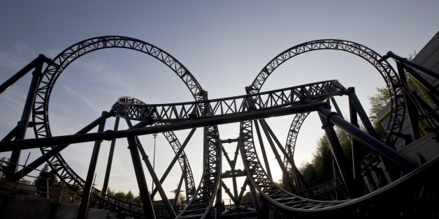 "EDITORIAL USE ONLY File photo dated 09/05/13 of The Smiler ride at Alton Towers Resort in Staffordshire, as the crash on the rollercoaster which seriously injured five people was caused by ""human error"" and the ride will re-open next year, the theme park's owner Merlin Entertainments has said."