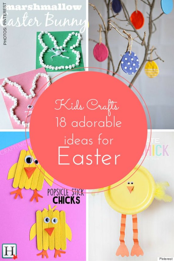 Easter Crafts For Kids 18 Cute Ideas To Celebrate The Holiday
