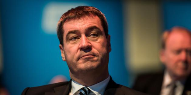 Der bayerische Finanzminister Markus Söder