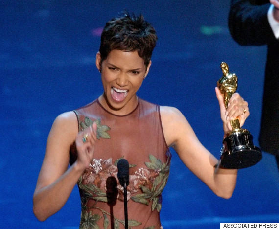 halle berry accepts her oscar