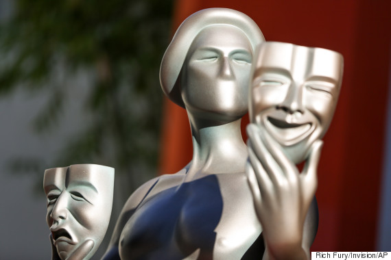 a screen actors guild statue
