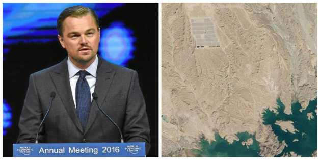 Quand Leonardo DiCaprio fait la promo de la centrale solaire de Ouarzazate (PHOTO)
