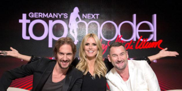 """Die """"GNTM""""-Jury stellte auch diese Woche die Models auf die Probe: Thomas Hayo, Heidi Klum, Michael Michalsky (v.l.)"""