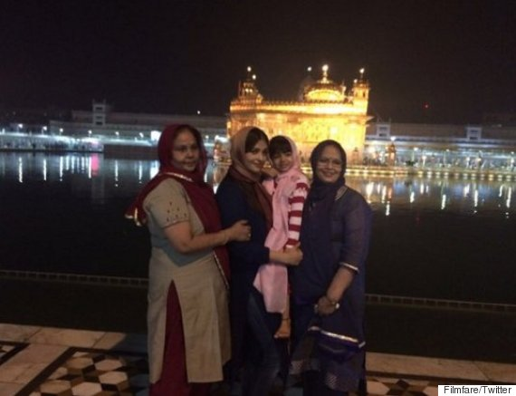 aishwarya rai golden temple