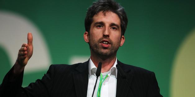 Boris Palmer beim Parteitag der Grünen