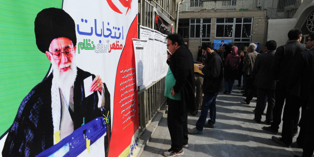 TEHRAN, IRAN - FEBRUARY 26:  Iranians line up in long lines to vote in key elections for Parliament and the Assembly of Experts in Tehran, Iran, on February 26, 2016. The vote is essentially a referendum on the agenda of centrist President Hassan Rouhani, whose allies are trying to ease the grip of hardliners over many levers of government. The result in the 290-member Majlis, or parliament, and the 88-member clerical Assembly which could choose Iran's next supreme leader, if Ayatollah Ali Khamenei passes in the next 8 years Ð could shape Iran for years to come. (Photo by Scott Peterson/Getty Images)