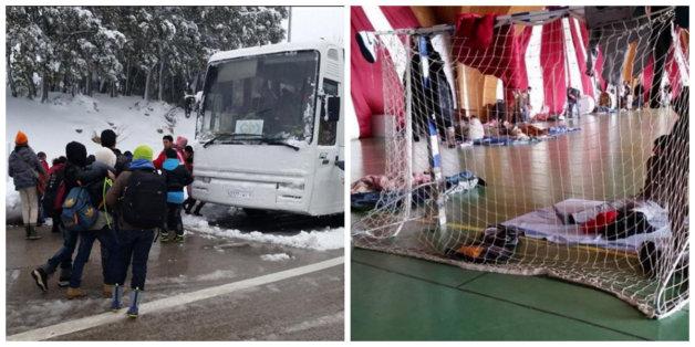 Ifrane: L'Université Al Akhawayn héberge près de 350 personnes bloquées par la neige