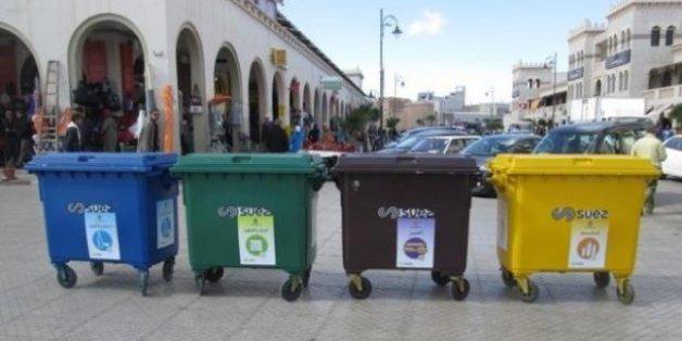 Oujda s'essaie au tri des déchets