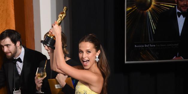 "Alicia Vikander gewann einen Oscar als Nebendarstellerin in ""The Danish Girl"""