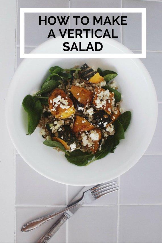 vertical salad