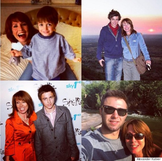 kay burley and son alexander