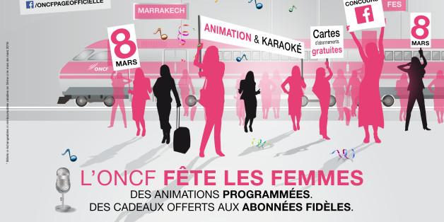 L'ONCF célèbre la Journée internationale de la femme.