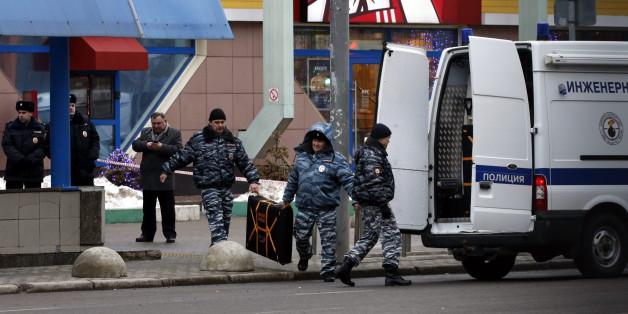 In Moskau ist eine Frau mit einem abgetrennten Kinderkopf herumgelaufen