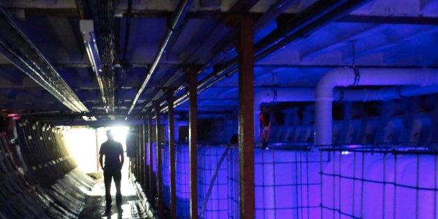 33 Meter unter London wächst Salat ganz ohne Tageslicht