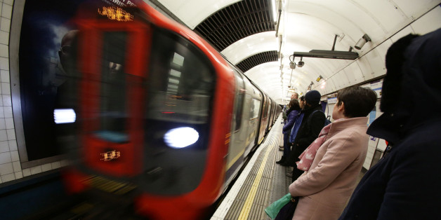 File photo dated 06/02/14 of a London Underground train as union leaders are to meet to discuss calling off planned strikes by Tube workers after London Underground bosses made an offer on pay and a new night service.