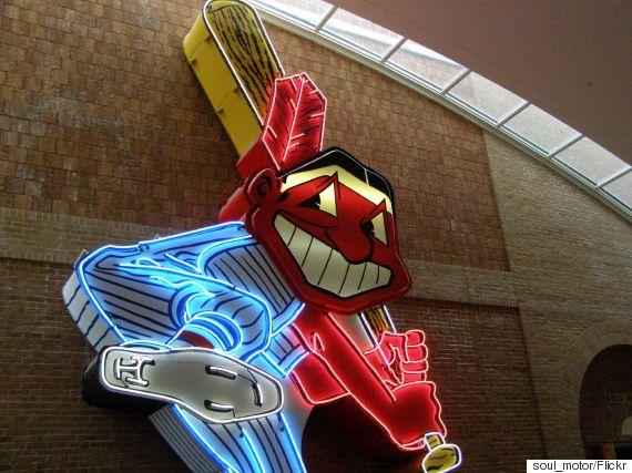 cleveland indians mascot