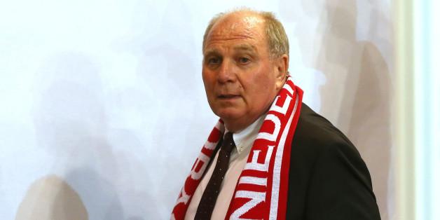 Der ehemalige Präsident des FC Bayern Uli Honeß