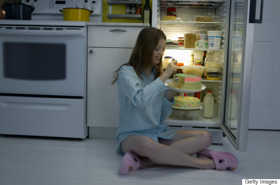 fridge eating