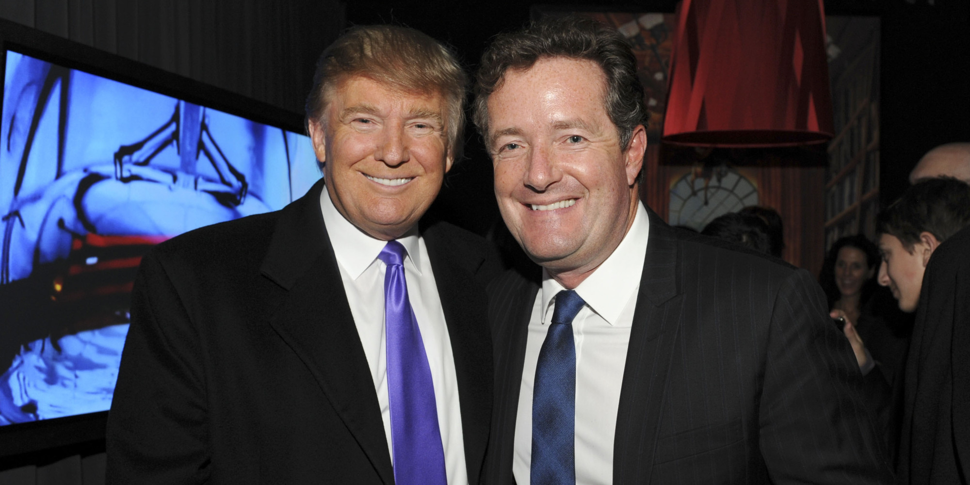 Piers morgan has defended smart donald trump as best president to deal with vladimir putin huffpost uk