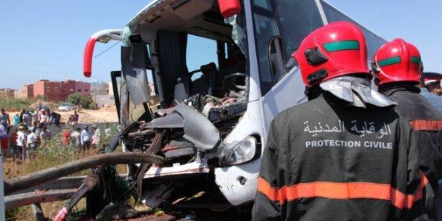 En juillet 2015, un accident entre un autocar et un pick-up avait fait quarante blessés sur l'autoroute Mohammedia-Casablanca (photo d'archive)