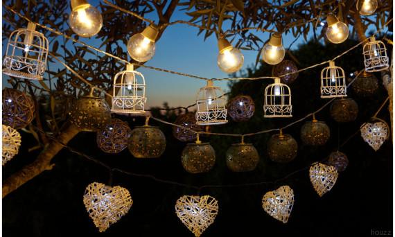 Decorazioni Luminose Per Interni : Decorare con le catene di luci per essere in festa tutto l anno